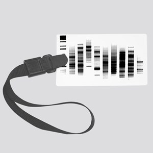 DNA Gel Large Luggage Tag