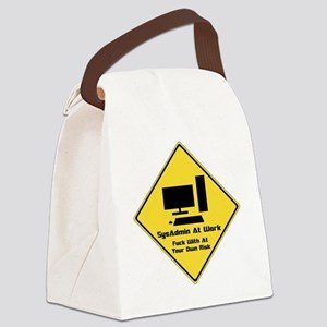SysAdmin Zone Canvas Lunch Bag