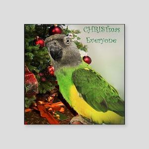 "ChristmasSenegal Square Sticker 3"" x 3"""