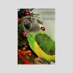 ChristmasSenegal Rectangle Magnet