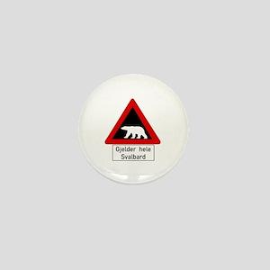 Polar Bear, Svalbard - Norway Mini Button