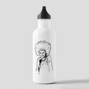 Phyllis Diller Illustr Stainless Water Bottle 1.0L