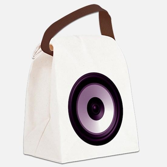 BASS (Speaker) Canvas Lunch Bag