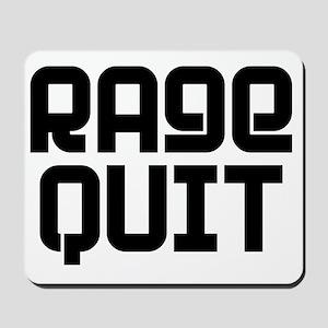 RAGE QUIT! Mousepad