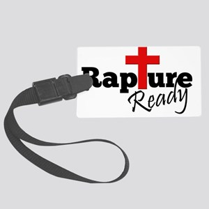Rapture Ready Large Luggage Tag