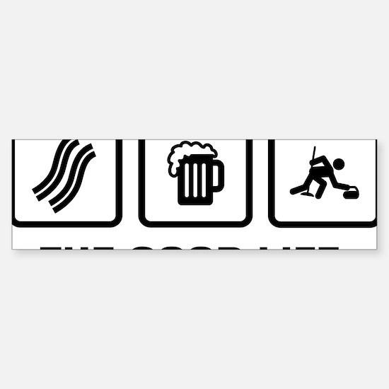 Curling-AAX1 Sticker (Bumper)