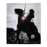 Buffalo soldier Fleece Blankets