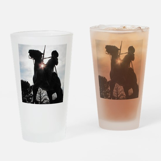 Buffalo Soldier Drinking Glass