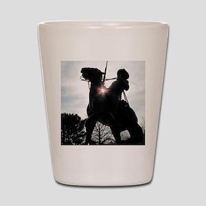 Buffalo Soldier Shot Glass