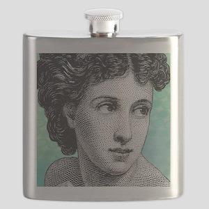 Seductress Blue Tile Flask