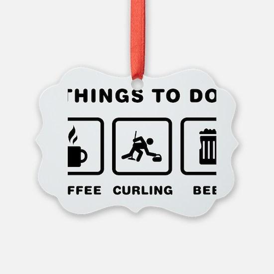Curling-ABH1 Ornament