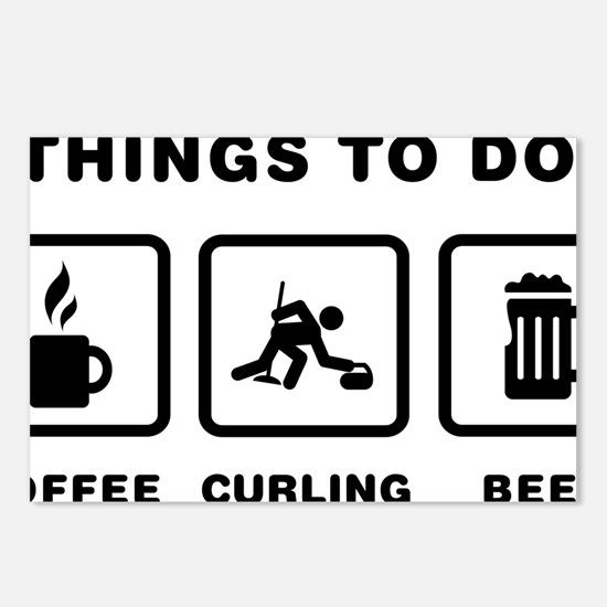 Curling-ABH1 Postcards (Package of 8)