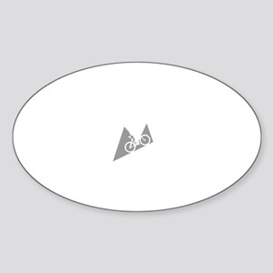 Mountain-Biking-ABI2 Sticker (Oval)
