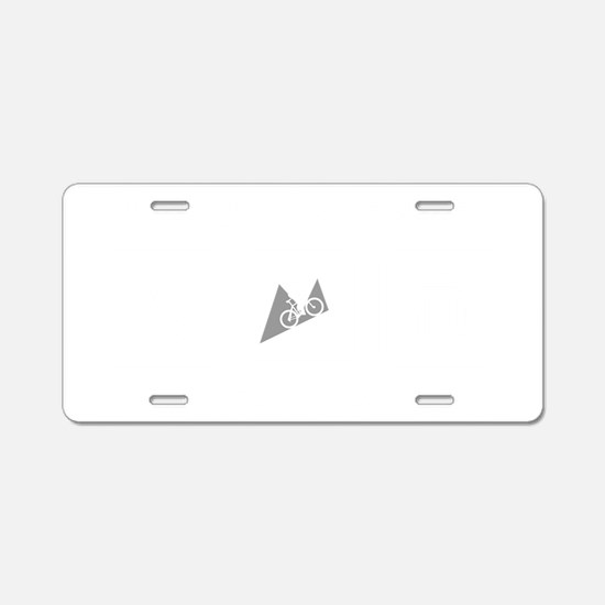 Mountain-Biking-ABI2 Aluminum License Plate