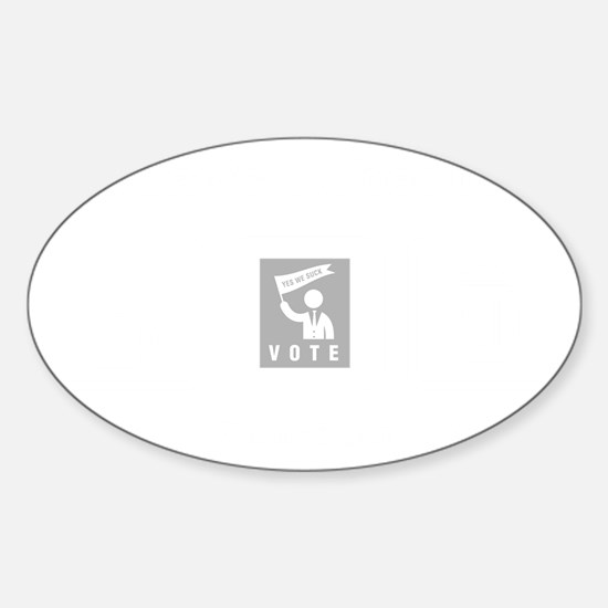 Politician-ABI2 Sticker (Oval)