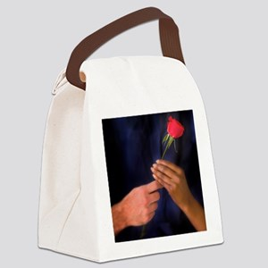 The Rose Exchange Canvas Lunch Bag