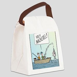Holy Mackerel! Canvas Lunch Bag