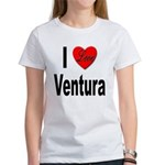I Love Ventura (Front) Women's T-Shirt
