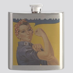 Rosie The Riverter Flask