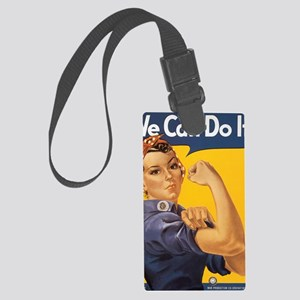 Rosie The Riverter Large Luggage Tag