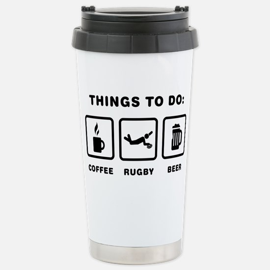 Rugby-02-ABH1 Stainless Steel Travel Mug