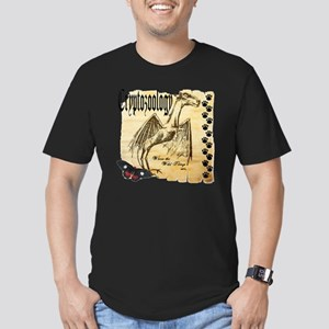 Cryptozoology Where Th Men's Fitted T-Shirt (dark)