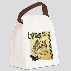 Cryptozoology Where The Wild Thin Canvas Lunch Bag