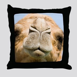Dromedary camel Throw Pillow