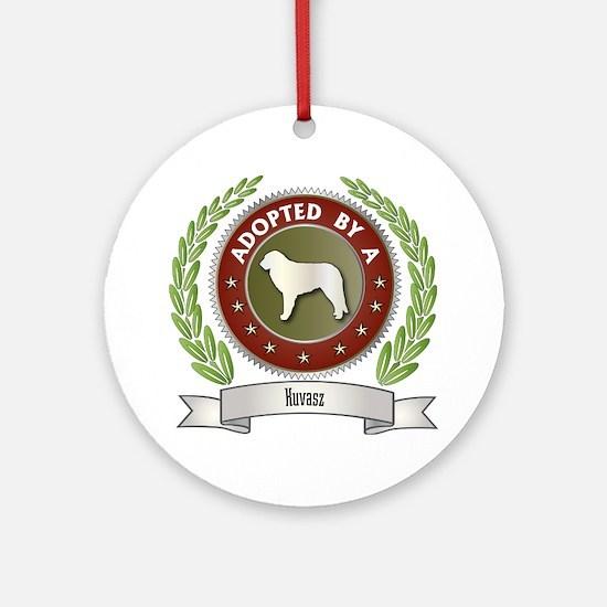 Kuvasz Adopted Ornament (Round)
