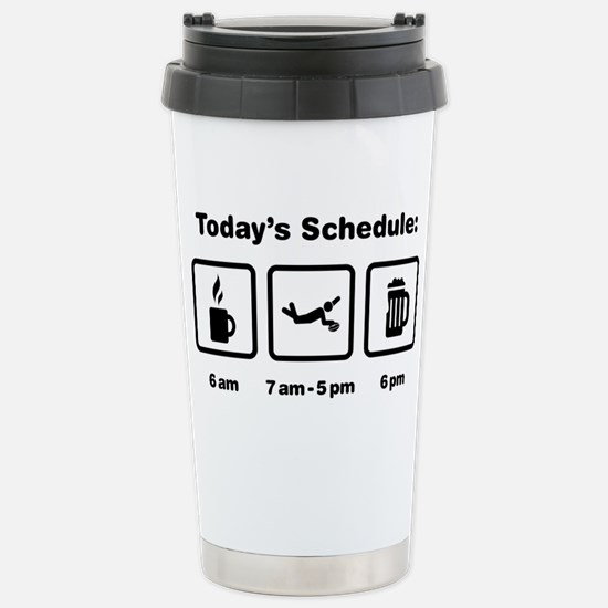 Rugby-02-ABI1 Stainless Steel Travel Mug