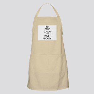 Keep Calm and TRUST Mickey Apron