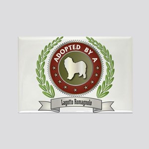 Lagotto Adopted Rectangle Magnet