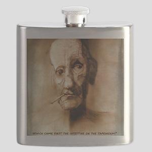 William S. Burroughs  Flask