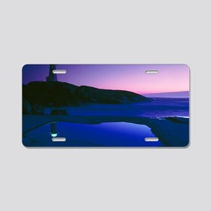 Dusk view of lighthouse, No Aluminum License Plate