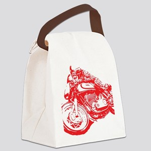 Norton Cafe Racer Canvas Lunch Bag