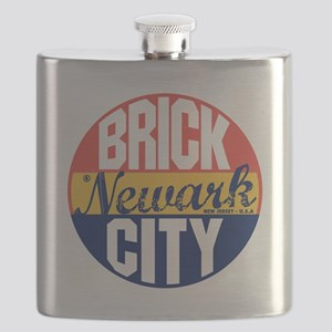 Newark Vintage Label B Flask