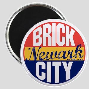 Newark Vintage Label B Magnet