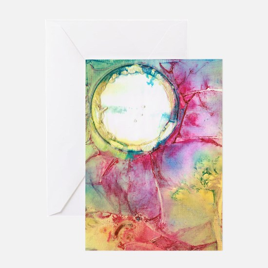 Silver Moon 3 Greeting Card