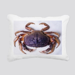 Dungeness crab Rectangular Canvas Pillow
