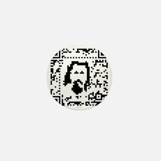 Little Lebowski Code Mini Button