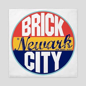 Newark Vintage Label W Queen Duvet