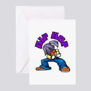 Hip Hop Dance Greeting Cards (Pk of 10)