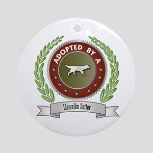 Llewellin Adopted Ornament (Round)