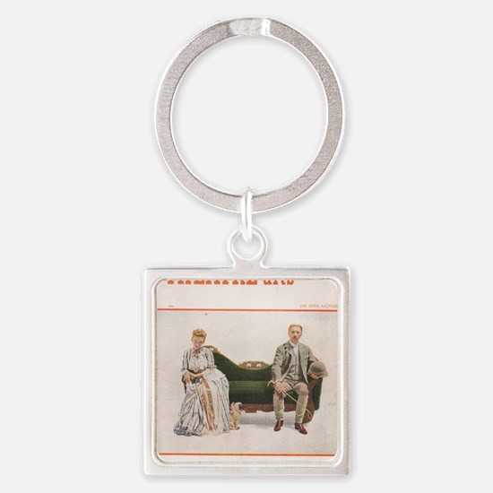 1948 OCTOBER Square Keychain