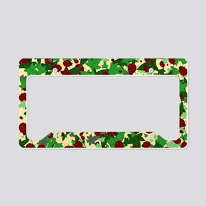 Ladybugs and Ivy on Sunny Yel License Plate Holder