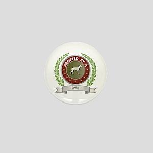Lurcher Adopted Mini Button