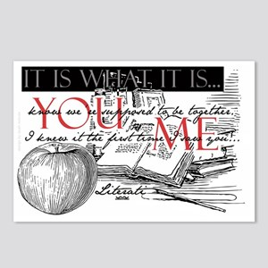 Literati - IT IS WHAT IT  Postcards (Package of 8)