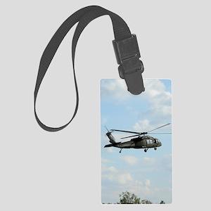 ipadMini_Helicopter_1 Large Luggage Tag