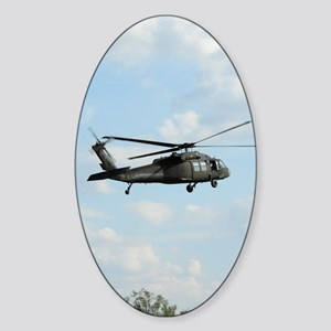 ipadMini_Helicopter_1 Sticker (Oval)