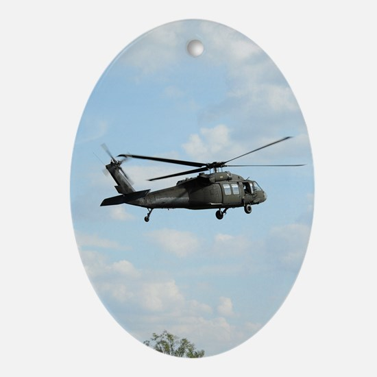 ipadMini_Helicopter_1 Oval Ornament